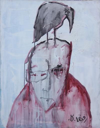 Untitled , acrylic on canvas, 100x100 cm