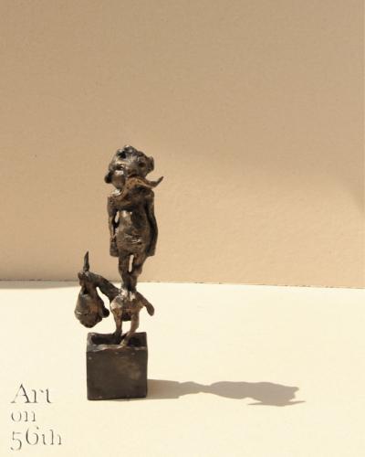 Untitled 8, 2017, Bronze, 22 x 7 cm