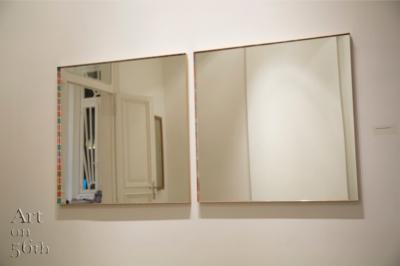The illusionist, Brass, 75 x 75 cm