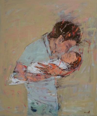 The Brother, 2016, acrylic on canvas, 120 x 100 cm