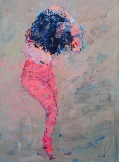 Untitled 2, 2015, Acrylic on canvas, 150x110cm