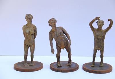 The Dreamer , 2014, bronze, 30x16 cm 11