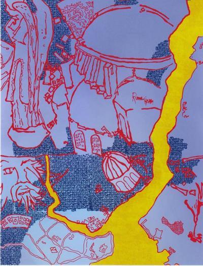 Yigit Yazici, Print 3, 2008, Poster printed on paper, 55x42