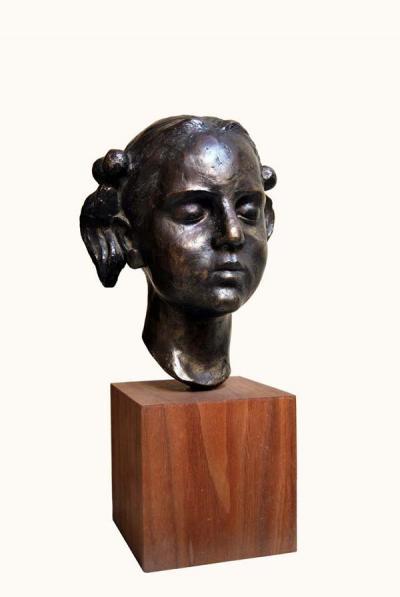 Lamis, 1982, Bronze, 25 x 19 cm