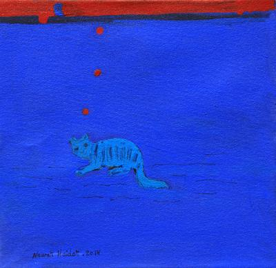 untitled 4, 2014, acrylic on canvas, 34x29cm