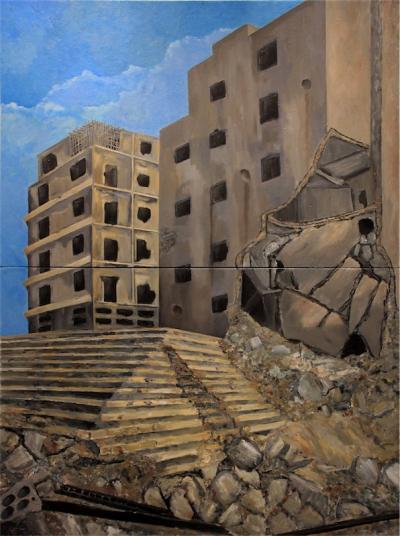 Witness, 2016, Acrylic on canvas, 200x150cm