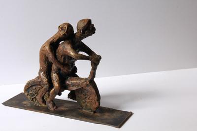 untitled 6, 2009, bronze, 2/8
