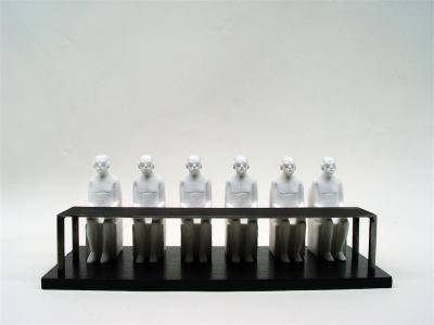 The last supper, 2016, Resin 3/8, 32 x 14 x 11 cm