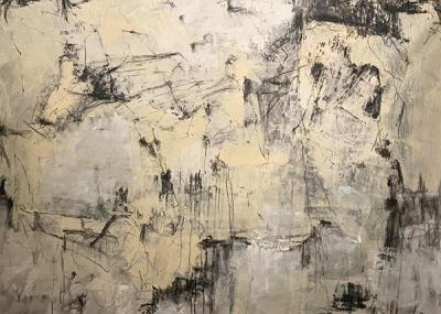 stains on a stone, 140x208cm