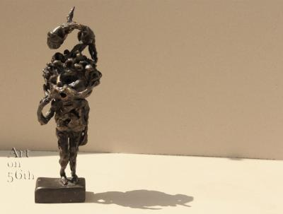 Untitled 15, 2018, Bronze, 31 x 10 cm