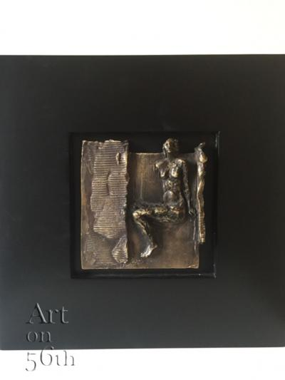 untitled 47, 2016,bronze,14.8x18cm 1/8