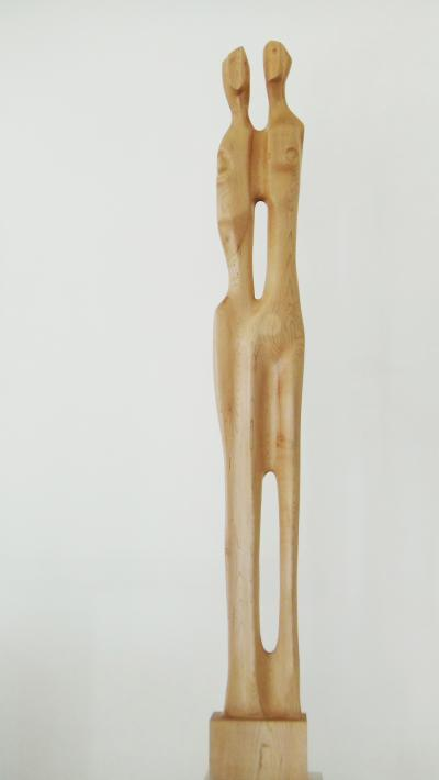 8- Fusion, Maple wood, 156 cm