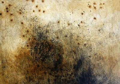 erased fireflies, 150x200cm