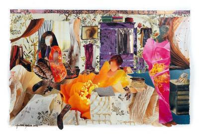 ROOMMATES, 2015,  Collage, 40 x 60 cm