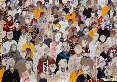 NOSTALGIE,  2018,  Collage,  50 x 70 cm