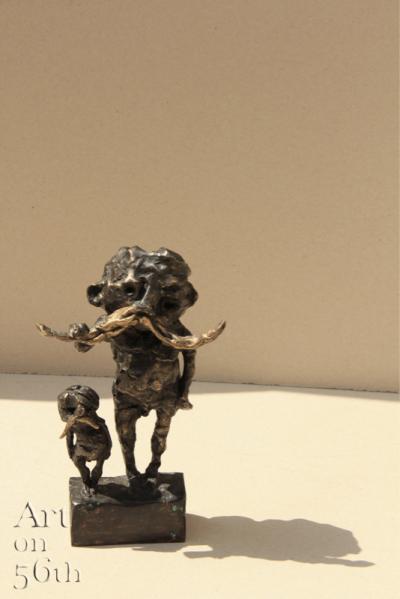 Untitled 26, 2017, Bronze, 19 x 11 cm