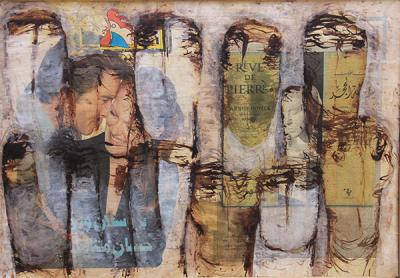 Untitled 13, 2004, Mixed Media on canvas, 46x60cm