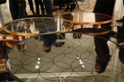 The Rebel tables, Arabesque, Oriental, Khayzaran, 60 cm, 45 cm, 32 cm