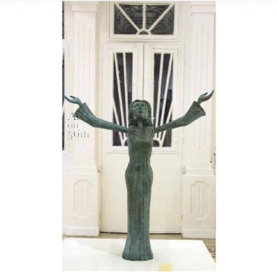 Ahmed Al Bahrani, Fayrouz, 2018, Bronze 2/3, 91 x 82 cm