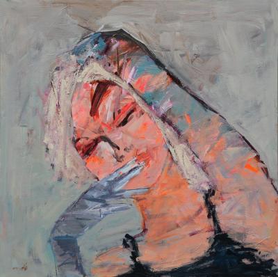 Untitled 46, 2016, acrylic on canvas, 120 x 120 cm