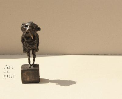 Untitled 17, 2017, Bronze, 13 x 5 cm