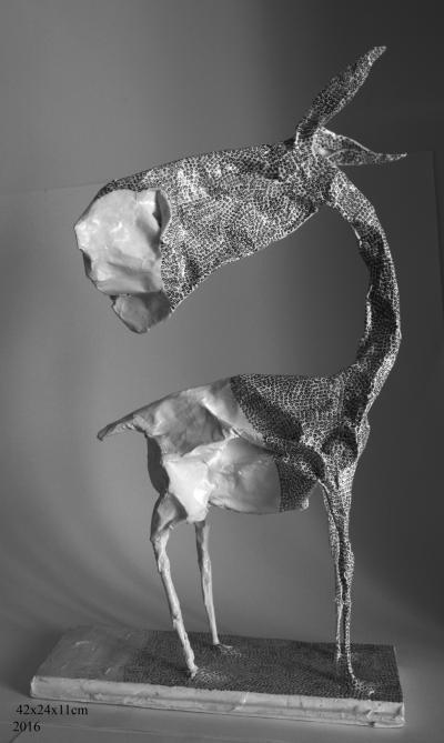 Untitled 2, 2016, Paper, 42x24 cm